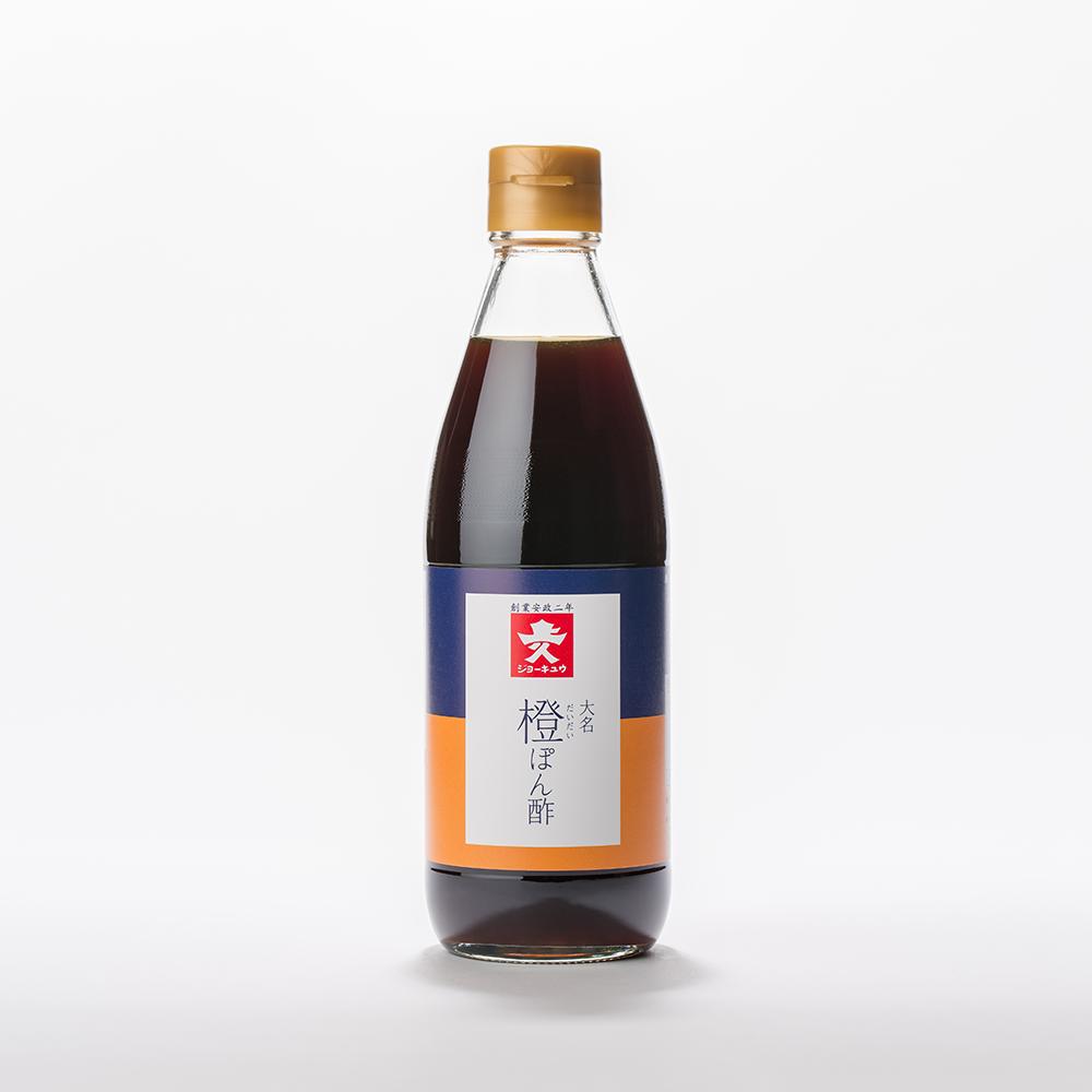 大名橙ぽん酢 360ml瓶