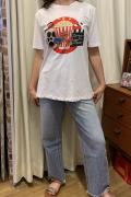 Italy シネマ プリント 半袖 Tシャツ