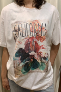 "Italy ""CALIFORNIA LA"" ビッグ Tシャツ"