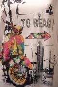 Italy べスパ スクーター Tシャツ