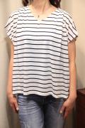 サーキュラー タック 半袖 Tシャツ