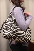 ゼブラ柄 パンチング Bag in Bag