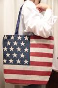 USA 星条旗 キャンバス トート バッグ