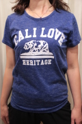 カリフォルニア ベア プリント スラブ Tシャツ