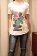 Italy サボテン New Mexico 半袖 Tシャツ