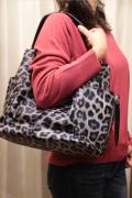 ヒョウ レオ柄 パンチング Bag in Bag