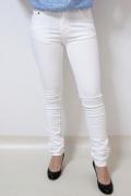 ストレッチ スキニー ホワイト パンツ