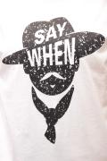 Italy シルクハット Tシャツ