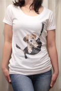 Italy ボディバッグ 犬 Tシャツ