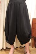 エステルジャージ 裾ターバン 変形 パンツ