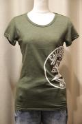 カリフォルニア ベア サイドプリント スラブ Tシャツ
