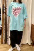 ハート ビッグ 半袖 Tシャツ