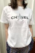 """CHAN〇L"" ? Tシャツ"
