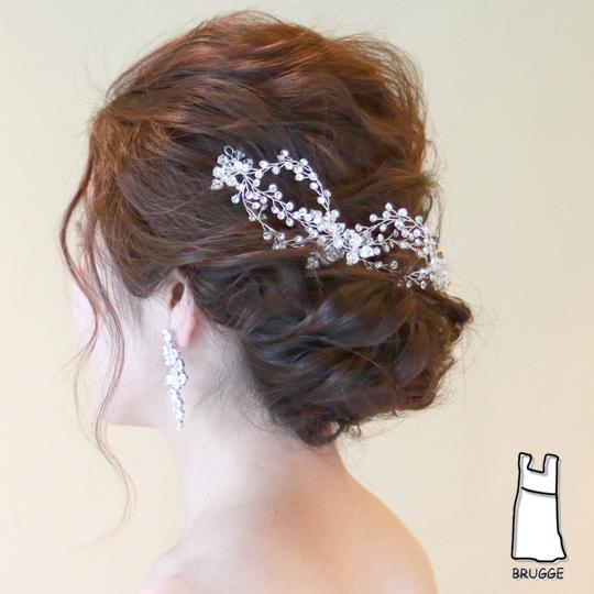 【新着商品】【海外挙式】ブライダル髪飾り B-348