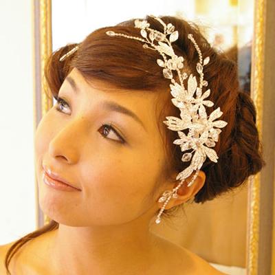 【キラキラ華やか】【存在感抜群】髪飾りヘアアクセサリー B-186