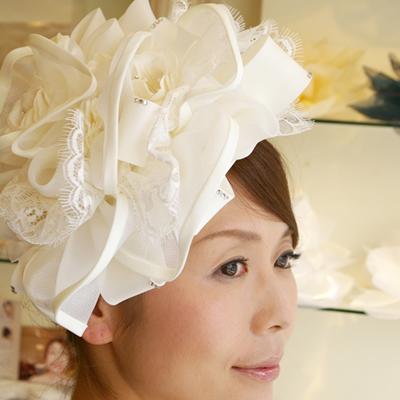 ブライダルヘッドドレス 髪飾りヘアアクセサリー B-204