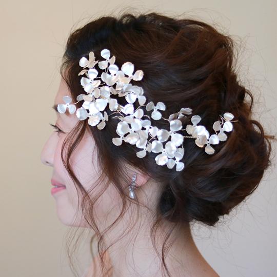 【新着商品】【大人ウエディング】【店舗人気】ブライダル髪飾り B-344