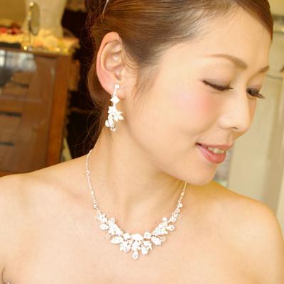 【ご遠方レンタル商品】ネックレス&イヤリング DN-0147