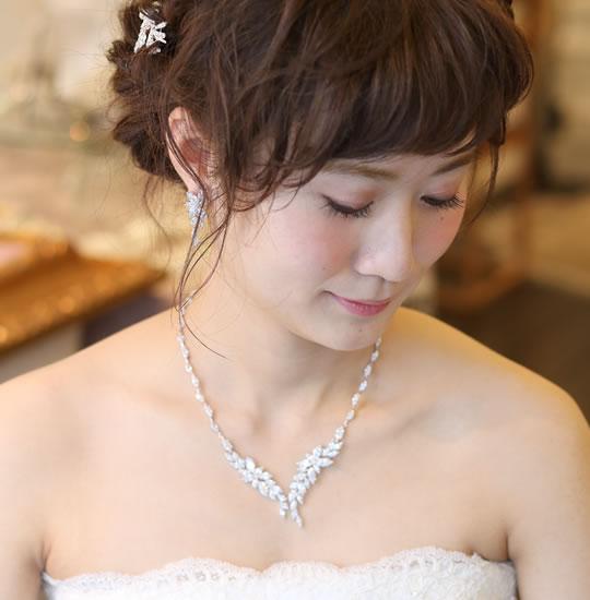 【ご遠方レンタル商品】ネックレス・イヤリング GN-7016