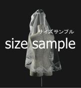 ブライダルマリアベール ヒップ丈 M-192(直径100cm)
