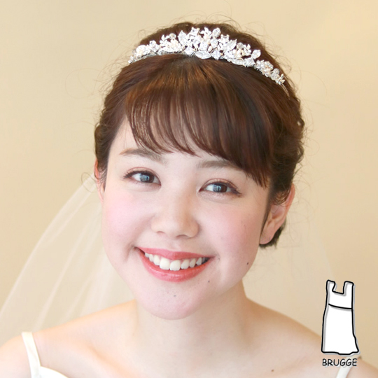 【ご遠方レンタル商品】ティアラ TA-0147 雑誌掲載アイテム