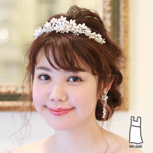 【実店舗レンタル商品】淡水パールティアラ TA-0156