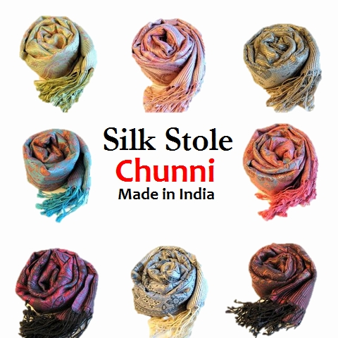 新着 シルク ストール 大判 花柄 ペイズリー柄 ストール シルク100% 高級 絹ストール インド製 大判ストール 結婚式 パーティーに最適 羽織もの 1点もの★送料無料