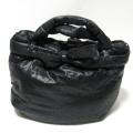 【ERMANNO SCERVINO】エルマノシェルビーノのナイロンバッグ ブラック  アウトレットプライス!直輸入バッグ★送料無料