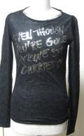 【ERMANNO SCERVINO】エルマノシェルビーノのTシャツ(長袖) ミラノで買付けの並行輸入Tシャツ★送料無料