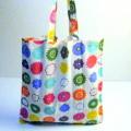 【エコバッグ】お買い物袋 ナポリで買付けカラフルなエコ袋★メール便対応