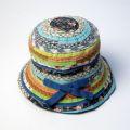 【GREVI グレヴィ】キッズ帽子(子供)ブレードハット マルチカラー帽子イタリア直輸入★メール便対応