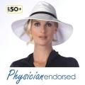 【Physiciane endorsed】UV帽子 中折れ 帽子 つば広 UV UVカット ベルト付ハット 日よけ UPF50+  ブラック ホワイト 紫外線防止の通販ショップ
