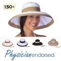 【Physiciane endorsed】帽子 紐付き 飛ばない UV UVカット 折りたたみ つば広 ハット 日よけ UPF50+ ツバ広 ブラック ホワイト 紫外線防止の通販ショップ