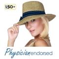 【Physiciane endorsed】中折帽  リボン ストローハット UV UVカット 麦わら帽子 ハット 日よけ UPF50+ 紫外線防止の 中折れ帽子の通販ショップ