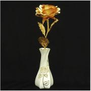 総純金箔貼り 幸せを呼ぶ純金のバラ