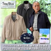 トロイブロス スイングトップブルゾン / TROY BROS