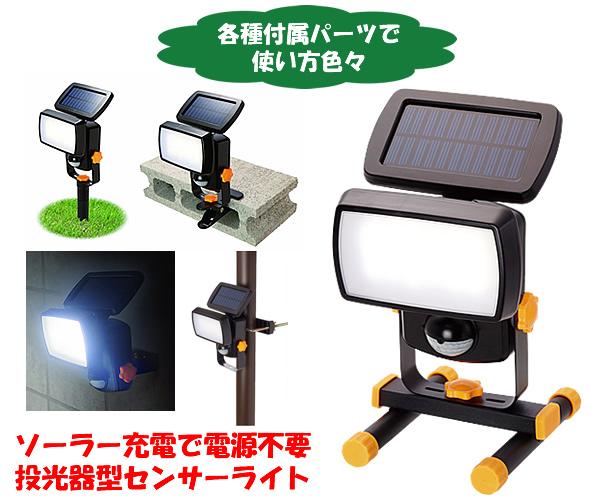 投光器型センサーライト