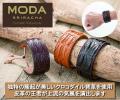 モーダシラチャー クロコダイル背革ダンディブレスレット / MODA SRIRACHA