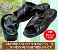 日本製 紳士足裏快適サンダル