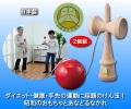 【日本けん玉協会認定品】けん玉 2個組