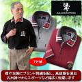サルーンエクスプレス 刺繍入り7分袖ポロシャツ同サイズ3色組 / SALOON EXPRESS