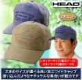 ヘッド 洗い加工ワイドキャップ / HEAD