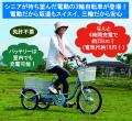 【代引き不可】電動アシスト三輪自転車