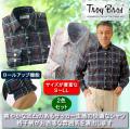 トロイ・ブロス 格子柄サッカーシャツ同サイズ2色組 / TROY BROS