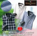 パトリチオ・フランチェスカしっかり強撚糸の快適長袖シャツ同サイズ3色組