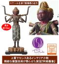 イSム TanaCOCORO [掌] 阿修羅像(あしゅら) インテリア仏像