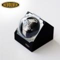 REVOLVER(リボルバー)自動巻き上げ機(ウォッチワインダー) カバー付 S-2 ブラック