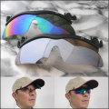 キャップのつばにつけるだけ帽子掛け偏光サングラス2色組