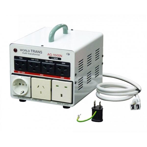【送料無料】日本の100Vから世界中の電圧に昇圧が可能 マルチアップトランス1500W