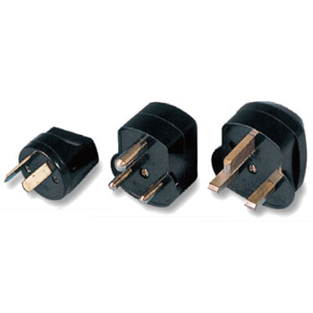 変圧器のプラグが対応していないO、B3、BFプラグの3点セット